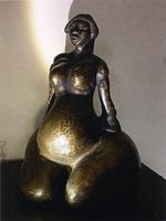 Arbeiten in Ton und Bronze von Franz Süss